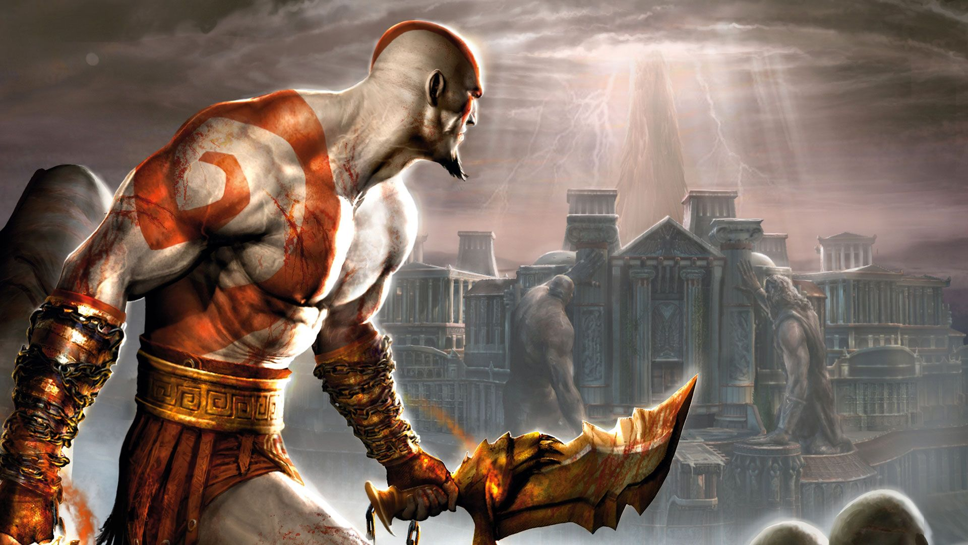 Video Games Kratos God Of War 1920x1080 Wallpaper Kratos God Of War God Of War Game God Of War