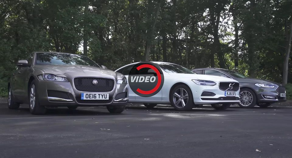 Ford S Posh Mondeo Vignale Put To The Test Against Volvo S90