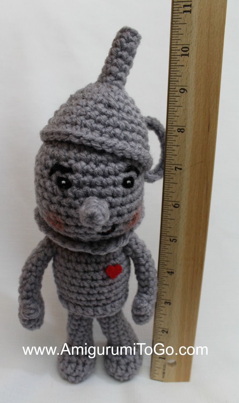 Meet the adorable Tin Man! This pattern has been in the works for a ...