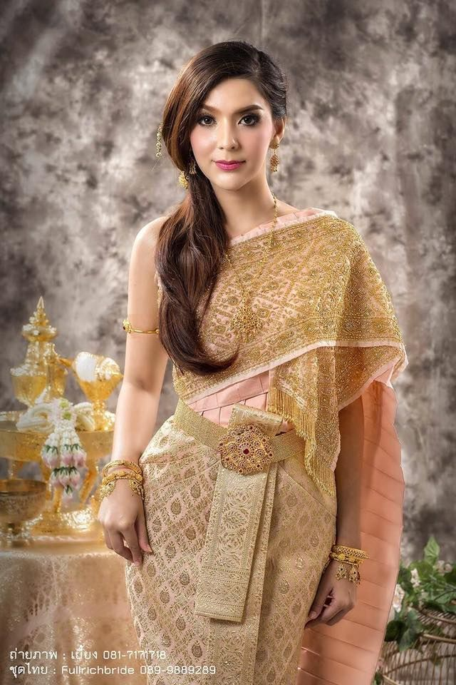 Thailand Set A New Wedding Dress For Traditional