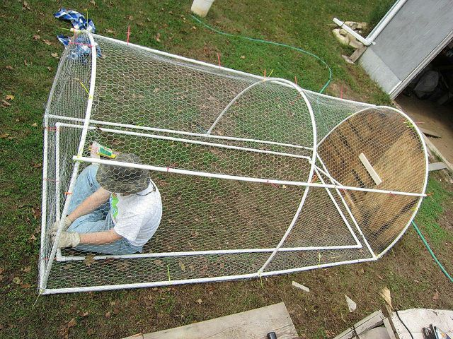 chicken tractor in progress by and parsecs to go, via Flickr