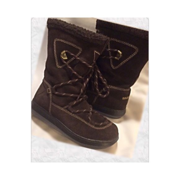 SALE ✨Lace up  leather suede boots✨ Great condition, great looking leather/suede boots.  Really good quality boots✨✨✨FIRM$$$ Rocket Dog Shoes