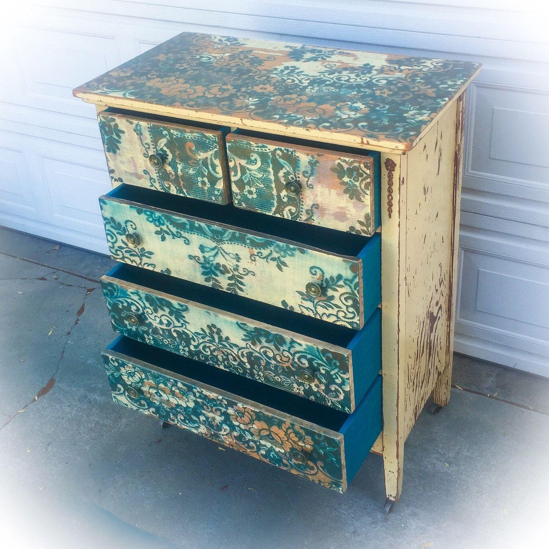 SOLD - Antique, Farmhouse Dresser, large dresser, distressed, pale ...