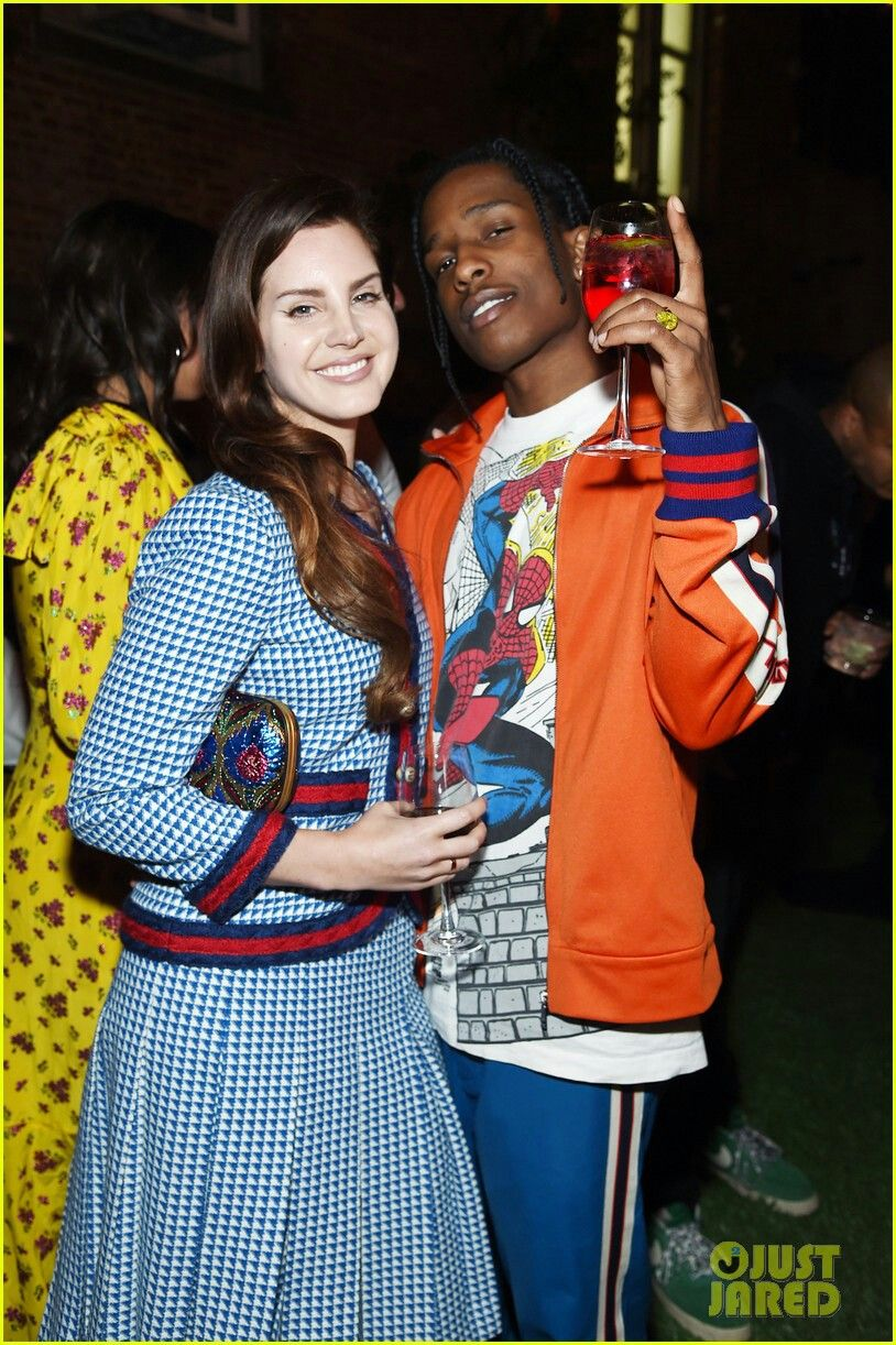 Asap And Lana I Will Ship Them Forever Not Mine Pic Pretty Flacko Lana Del Rey Kendall Jenner News