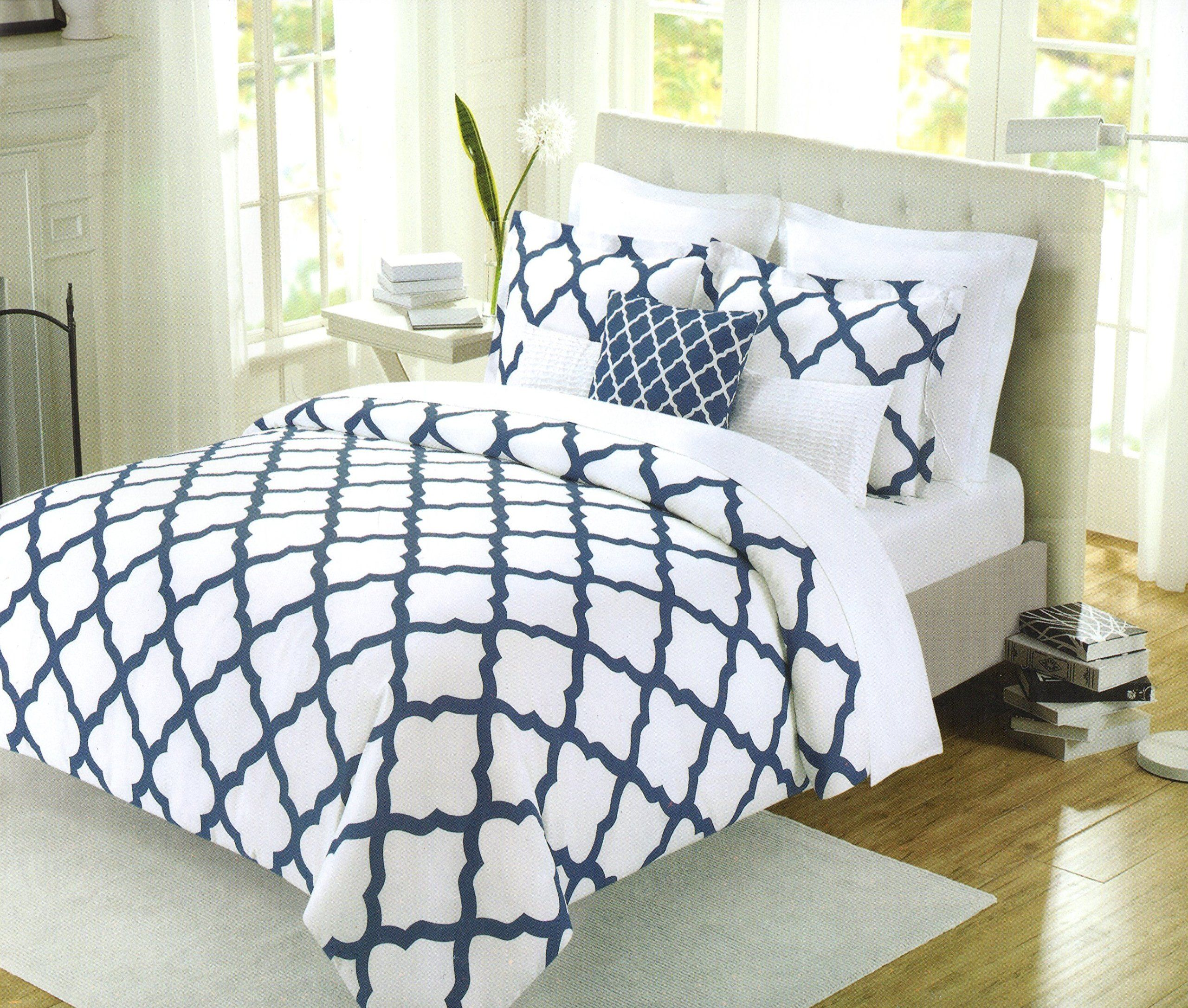 shipping free count king bedding piece percale product white duvet cover set cotton thread today oversize bath overstock
