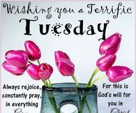 Wishing You A Terrific Tuesday