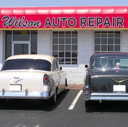 Wilson Auto Repair is a classic car restoration shop in ...