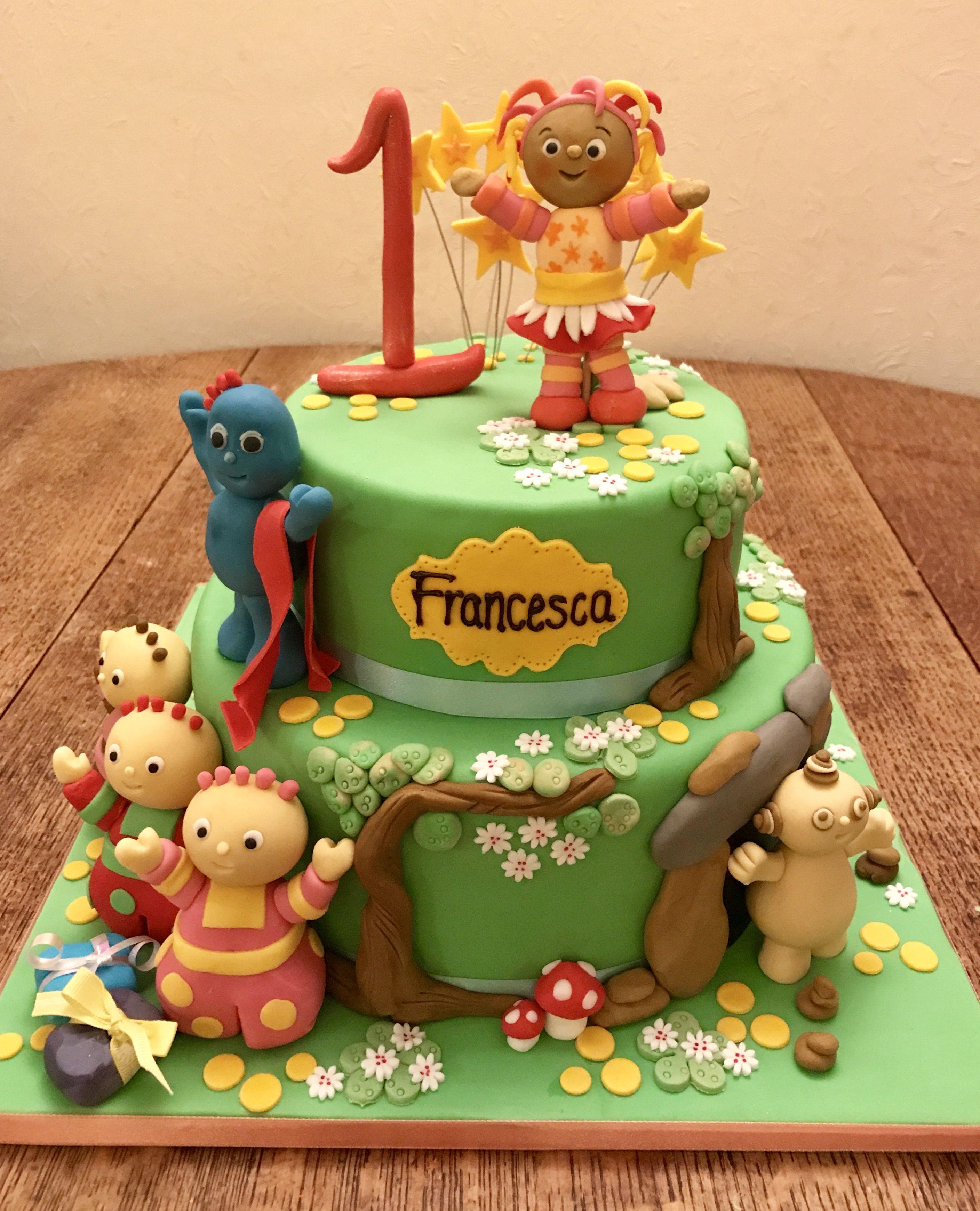 In the Night Garden Cake | Silvana\'s Cakes | Pinterest | Garden ...
