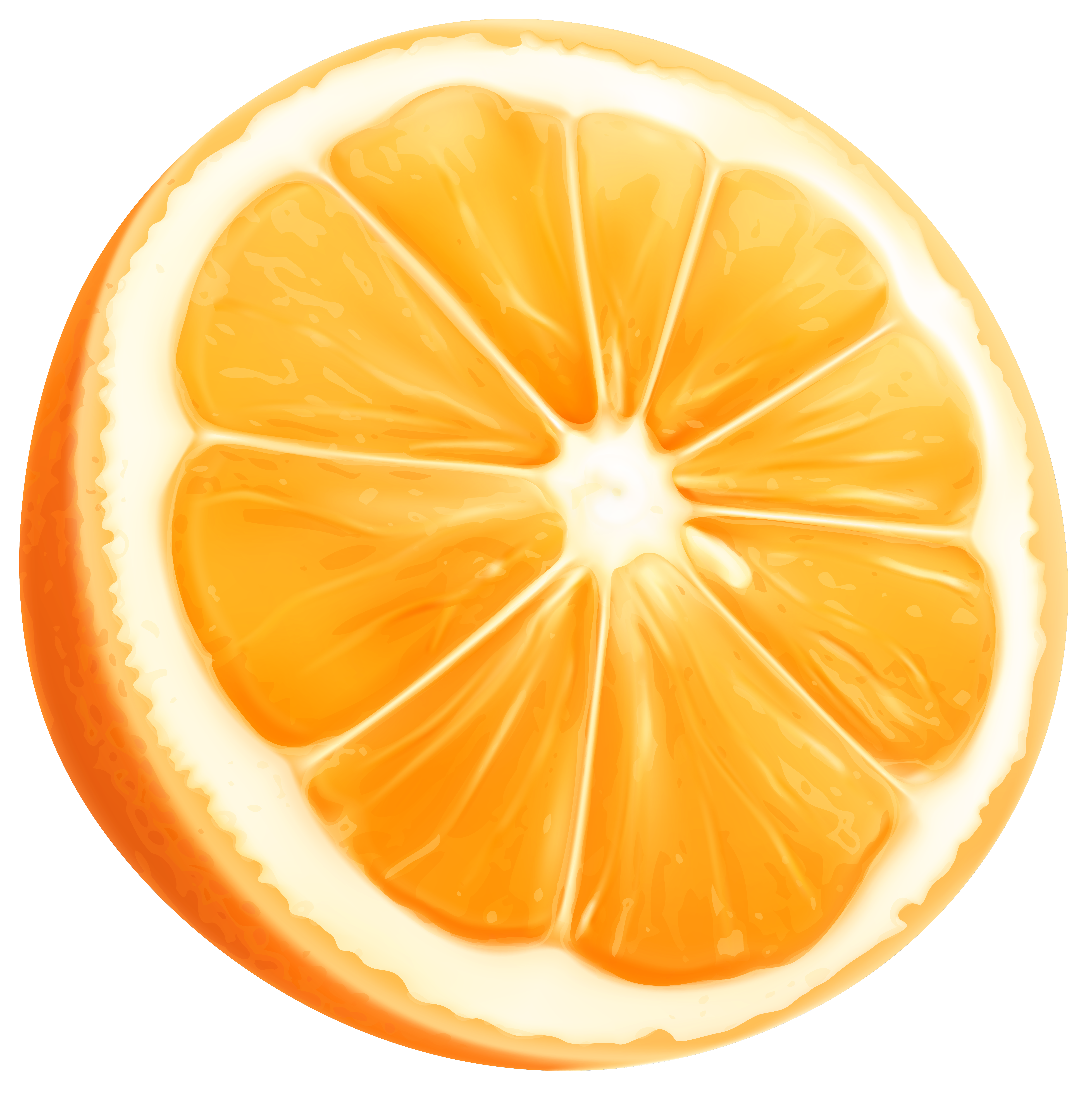Orange Slice Png Clip Art Image Gallery Yopriceville High Quality Images And Transparent Png Free Clipart Clip Art Art Images Orange