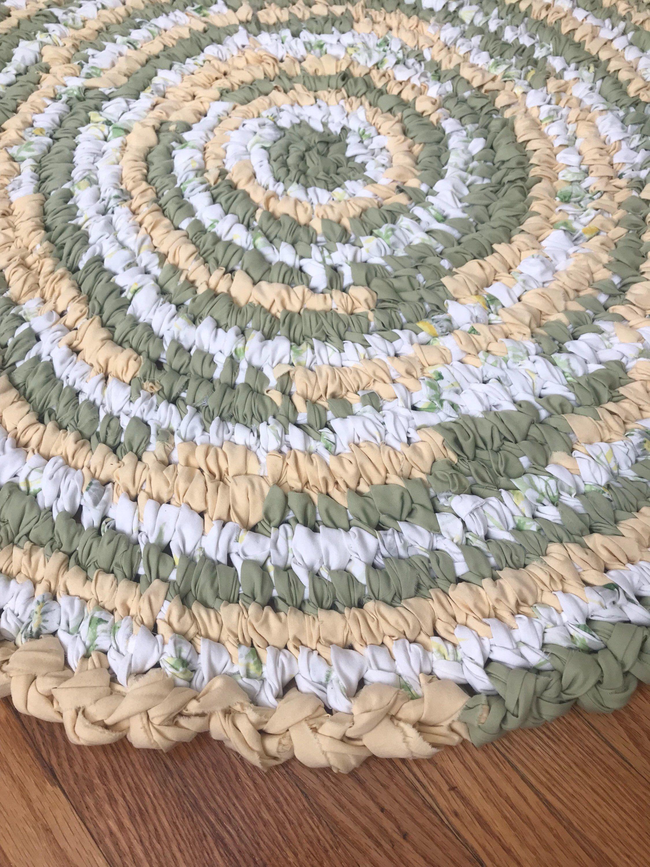 Farmhouse rag rug rag rug cabin rugs shabby rug