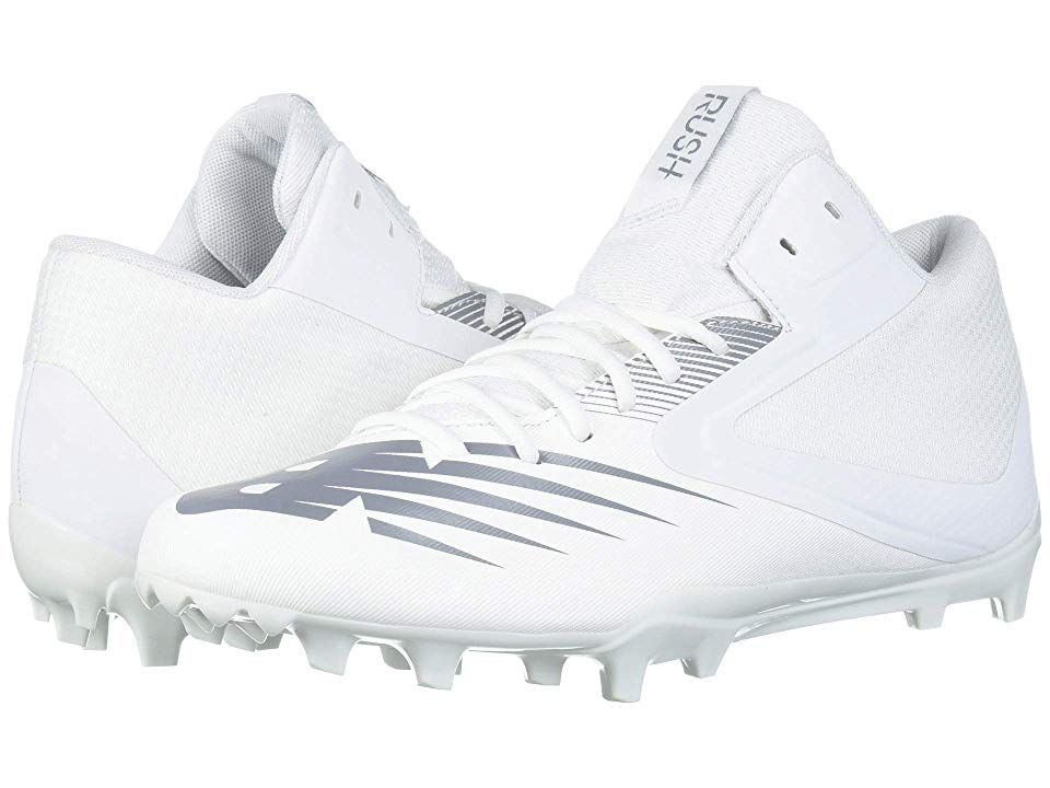 New Balance Rush v2 Mid Men's Cleated Shoes White/