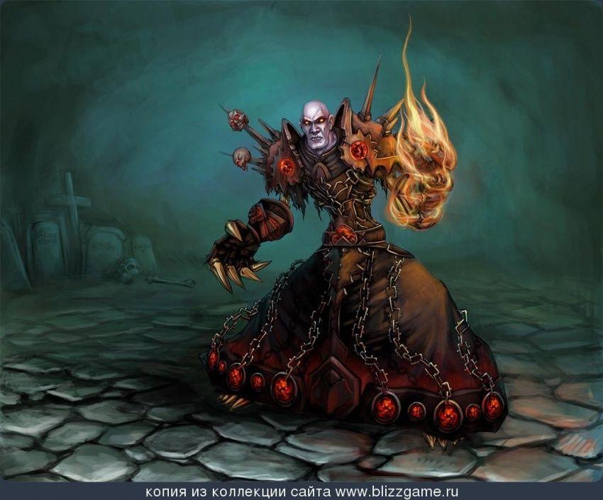 Undead Warlock By Bo Yang Galereya World Of Warcraft World Of Warcraft Warcraft Movie Wow Warlock