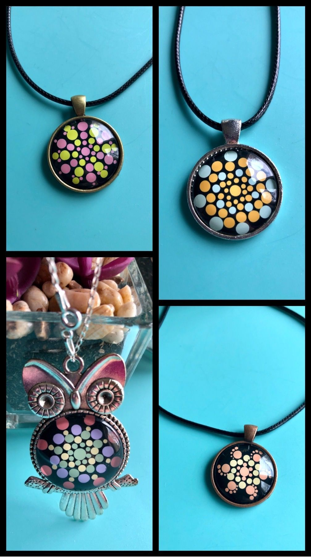 Beautiful hand painted bohemian style jewellery and gifts