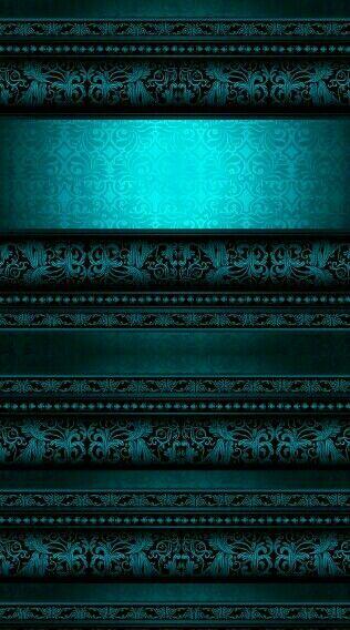 Black And Blue Teal Wallpaper Lace Wallpaper Samsung Wallpaper