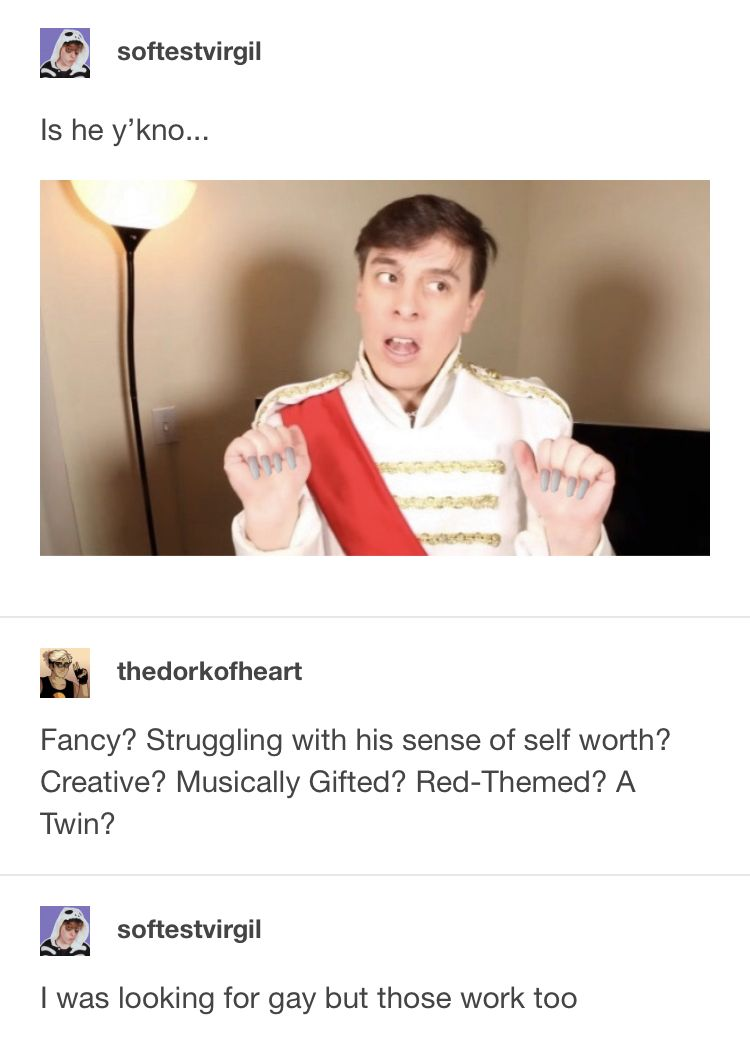 The Most Handsome Prince In The World Sander Sides Thomas Sanders Sanders