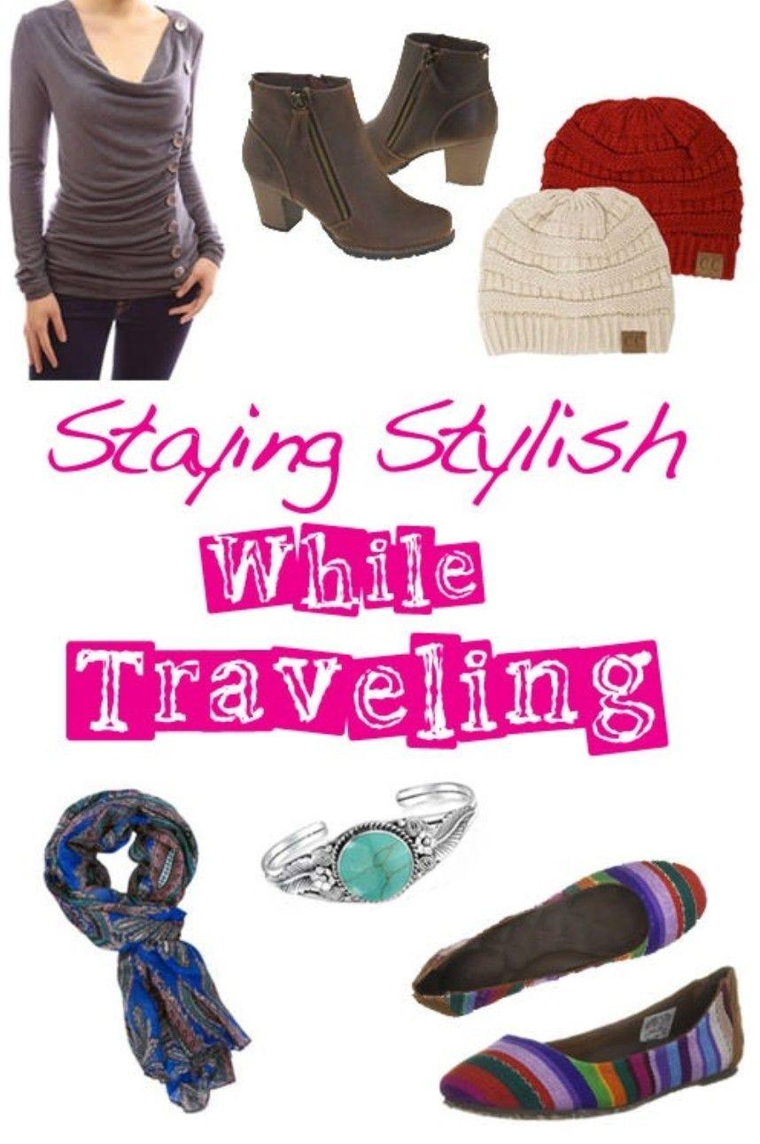 Staying Stylish While Traveling ❤