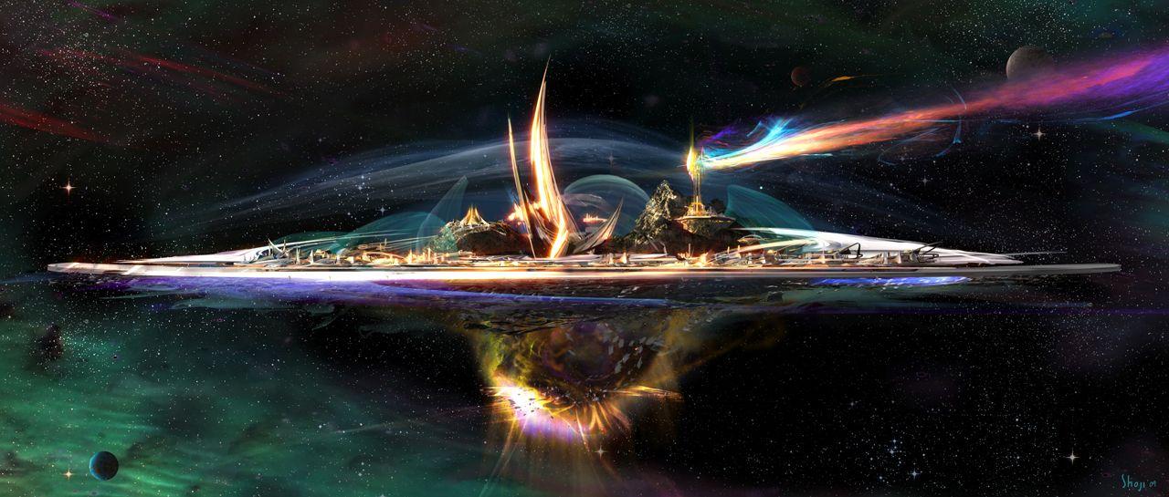nebula rainbow bridge thor - photo #24
