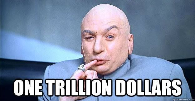 1 trillion dollar dr. evil