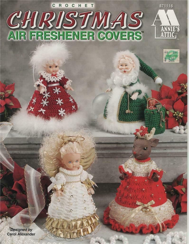 Christmas Air Freshner Cover Crochet Doll Patterns $3.5 #crochet #pattern #books #airfreshnerdolls Christmas Air Freshner Cover Crochet Doll Patterns $3.5 #crochet #pattern #books #airfreshnerdolls Christmas Air Freshner Cover Crochet Doll Patterns $3.5 #crochet #pattern #books #airfreshnerdolls Christmas Air Freshner Cover Crochet Doll Patterns $3.5 #crochet #pattern #books #airfreshnerdolls