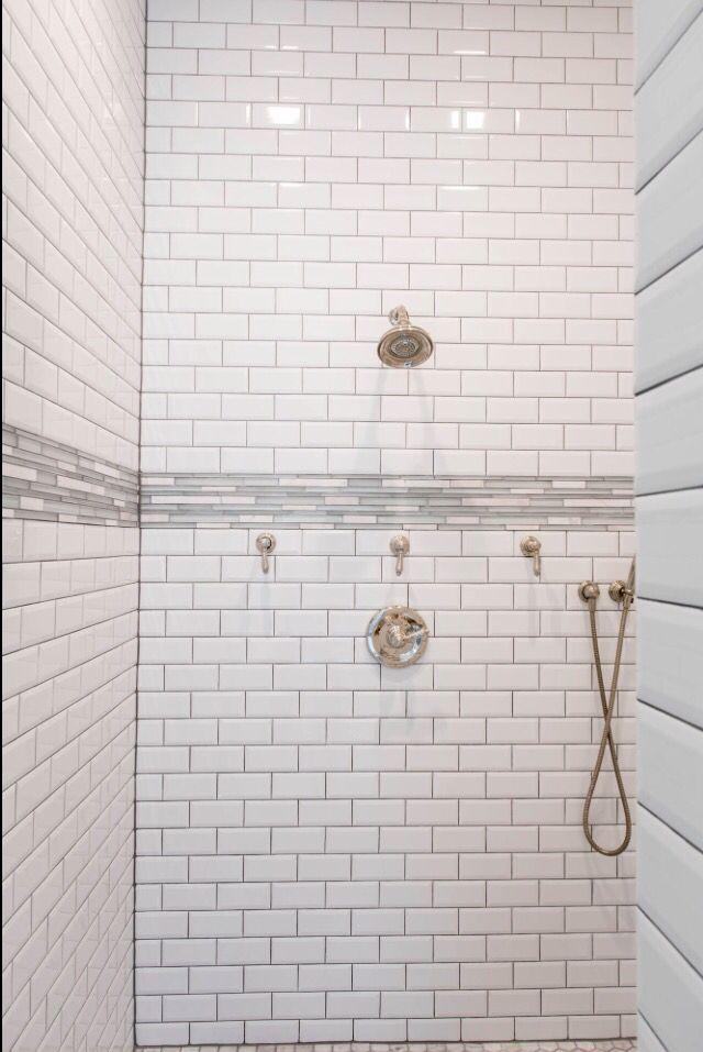 white subway tile with beveled edge