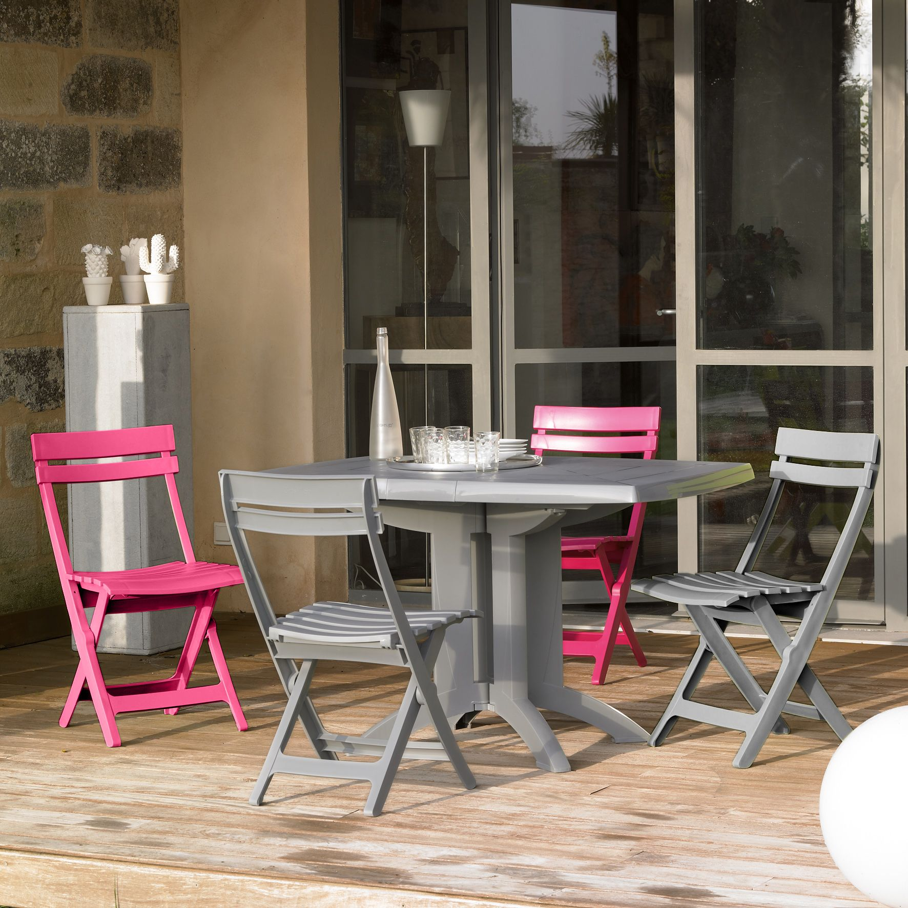 Épinglé par Meseo.fr sur Mobilier de jardin Grosfillex | Pinterest ...