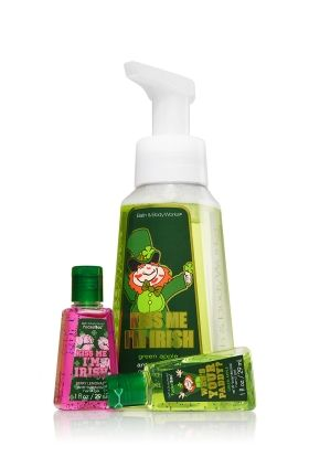 St Patrick S Day Hand Sanitizer And Hand Soap From Bath And Body