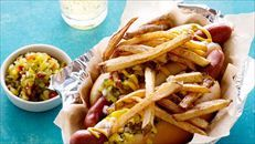Jeff S Chicago Style Hot Dog Food Network Recipes Chicago Style Hot Dog Hot Dog Recipes