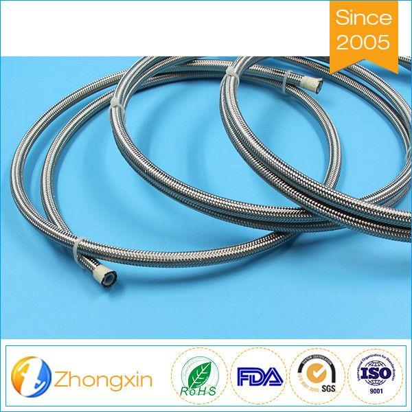 China Suppler Teflon S.S Braided Soft Hose PTFE hose with smooth ...