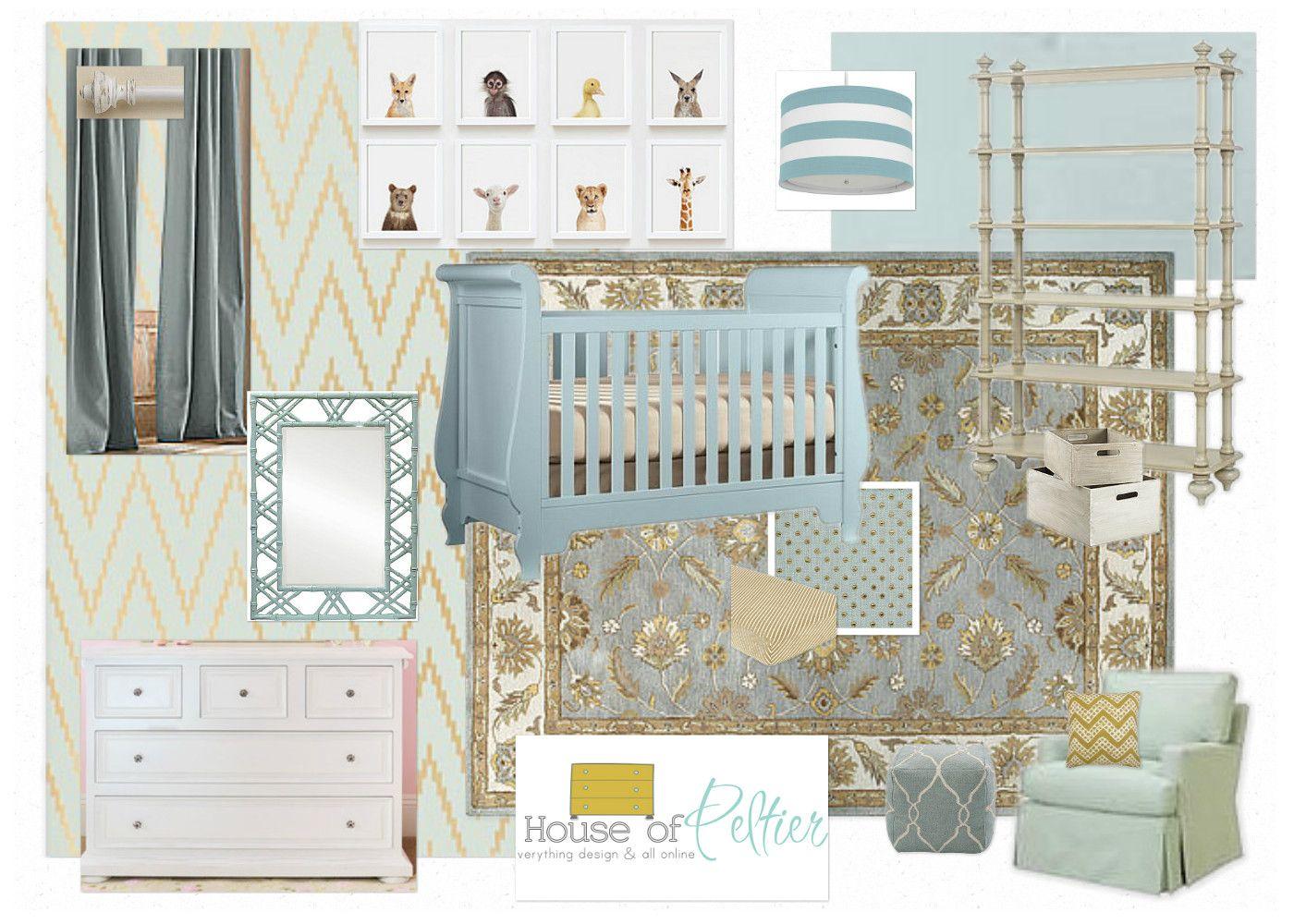 Online Nursery Design Interior