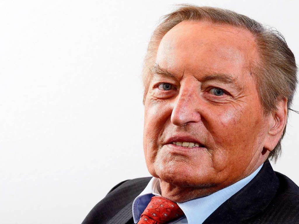 Gerhard Mayer-Vorfelder war deutscher Sportfunktionär und Politiker  (CDU) 1933 - 2015 R.I.P