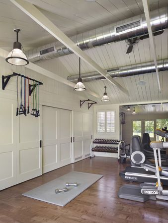 Home Gym by mrodgersltd Home gyms Pinterest Gym, House and