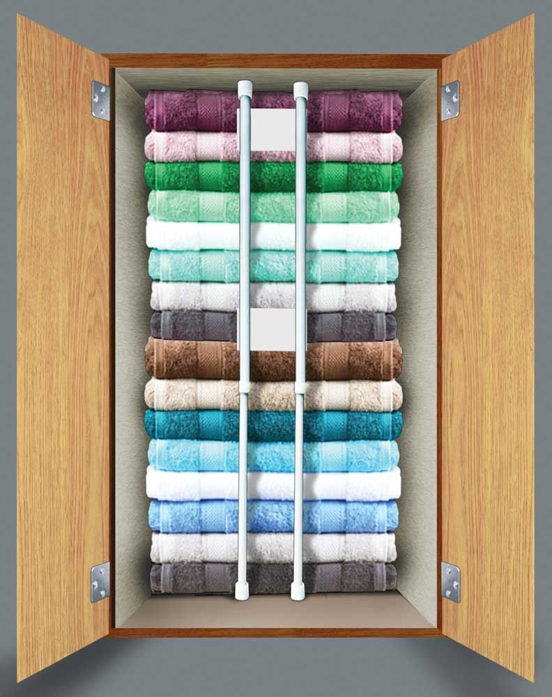RV Closet Storage: Don\'t Throw in the Towel | On the road 4 ...