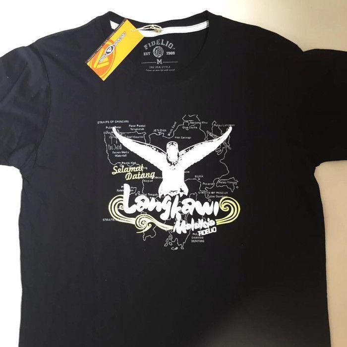 010855124720 T-shirt FIDELIO Langkawi Malaysia Rare Design New Condition Unique t-shirt  Men s