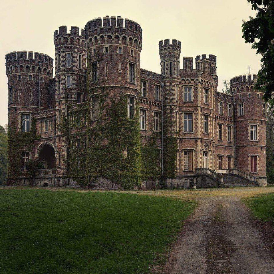 The Moulbaix Castle, In Belgium