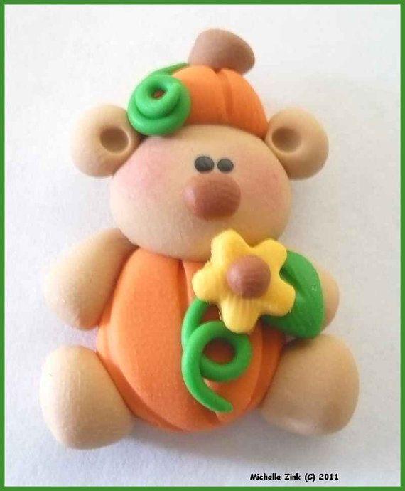 Pumpkin Bear...so cute!