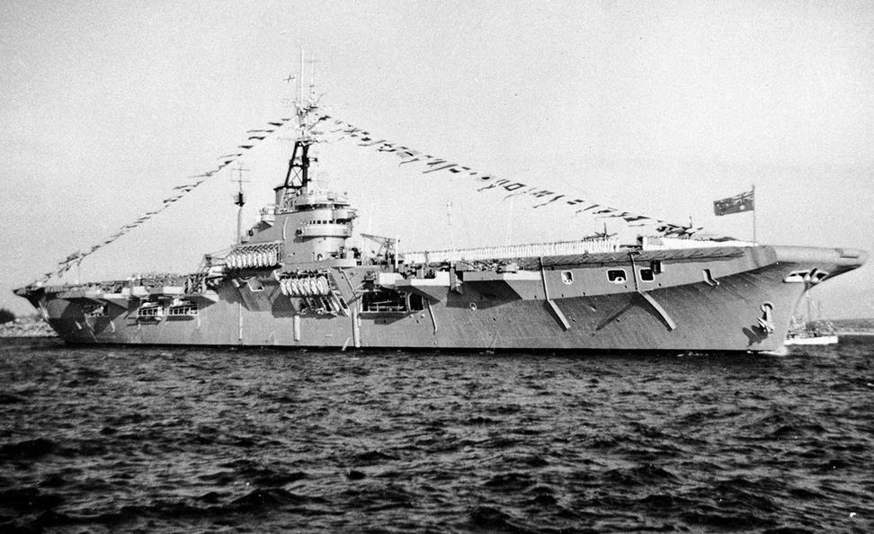 HMAS 'Vengeance': Marinha australiana autoriza pesquisador a levantar os primórdios da bela história do 'Minas Gerais'…