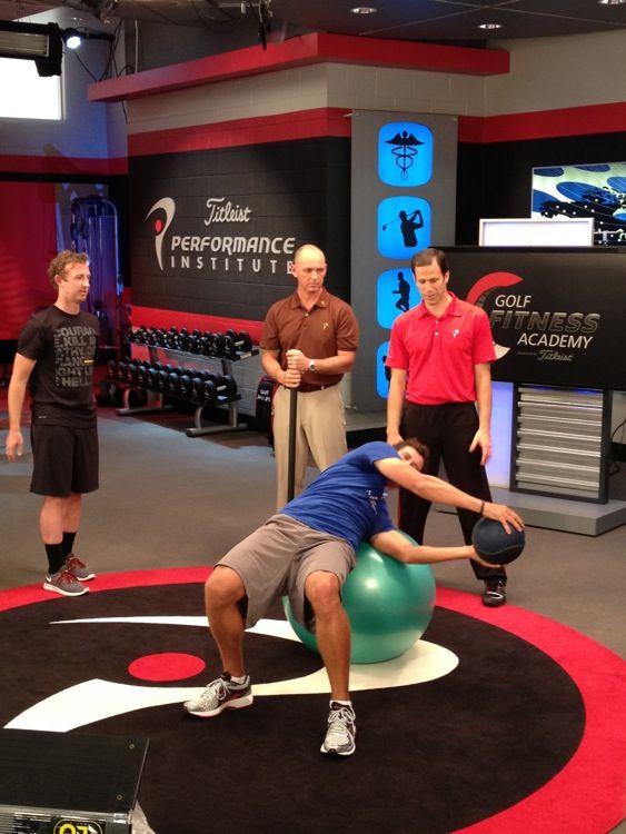 New Season Of Golf Fitness Academy Premieres Tonight On Golf Channel Golf School Golf Exercises Golf Training