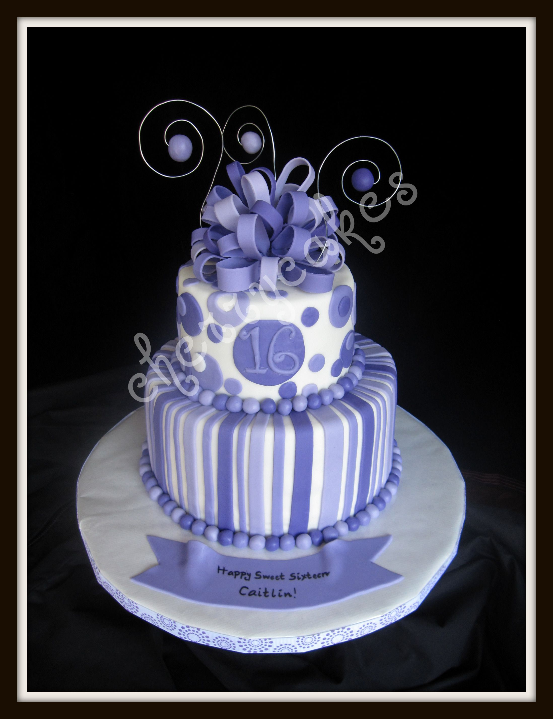 Swell Caitlin Sweet 16 Birthday Cake 16 Birthday Cake Cake Cover Funny Birthday Cards Online Kookostrdamsfinfo
