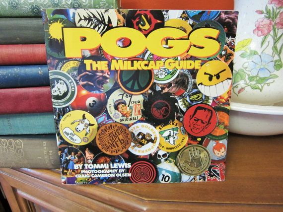 Collectible 1994 POGS The Milkcap Guide Book By Tommi Lewis
