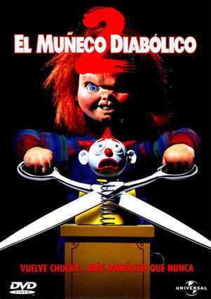 Muñeco Diabólico 2 1990 Español Chucky Peliculas De Terror Juegos Para Niños