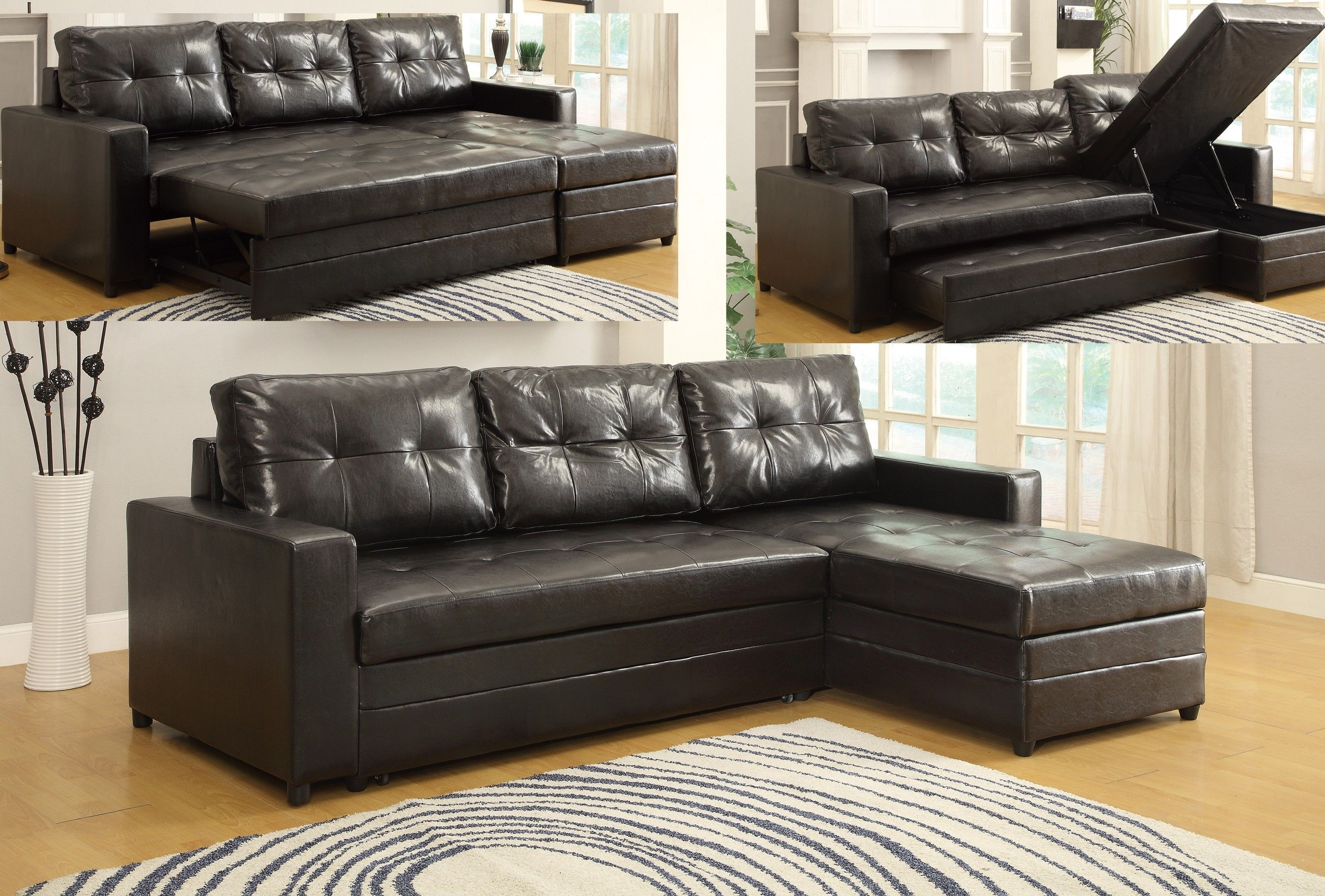 Cheap Sofas Brown Leather Sectional Sofa Bed
