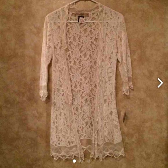 NWT lace cardigan from a boutique. NWT. Sweaters Cardigans