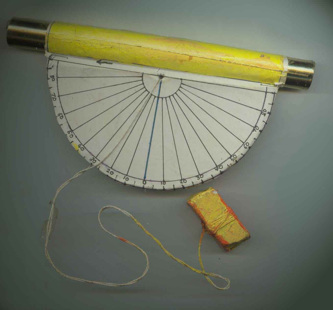 Wikihow To Make A Clinometer  Via Wikihow