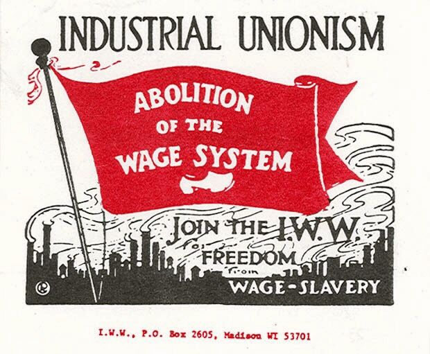 Image result for iww wage slavery