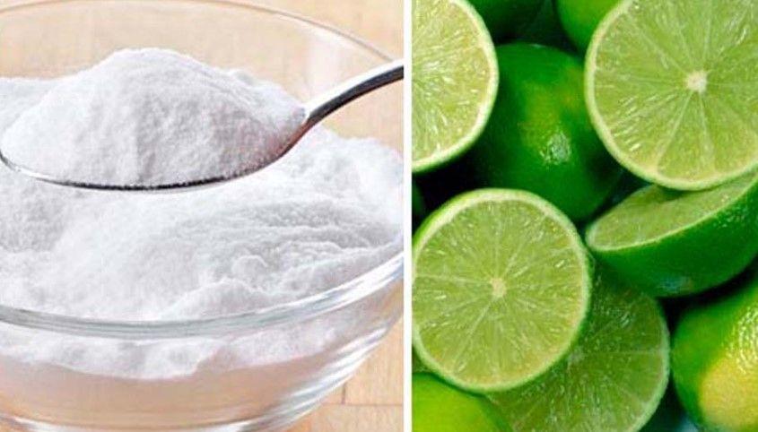 Bicarbonato desayunar limon con