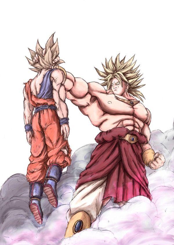 Broly Dragon Ball Art Anime Dragon Ball Dragon Ball Z