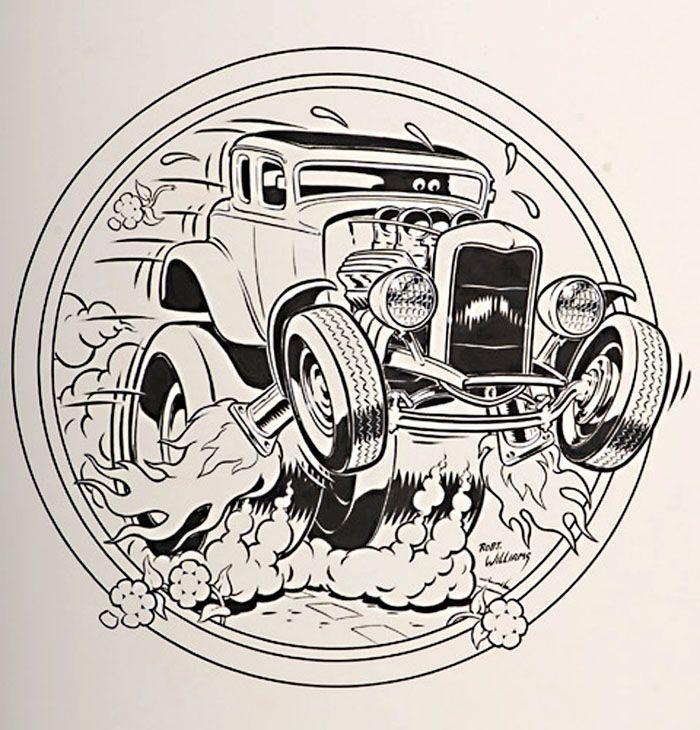 Robert Williams' Low Brow Art Art, Art cars, Hot rods