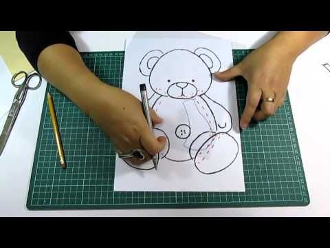 DIY Como elaborar moldes para Fomi, Goma Eva, Microporoso, Easy Crafts - YouTube