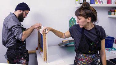 Serigrafía en papel. Un curso de Diseño y Craft de barbasilkscreenatelier