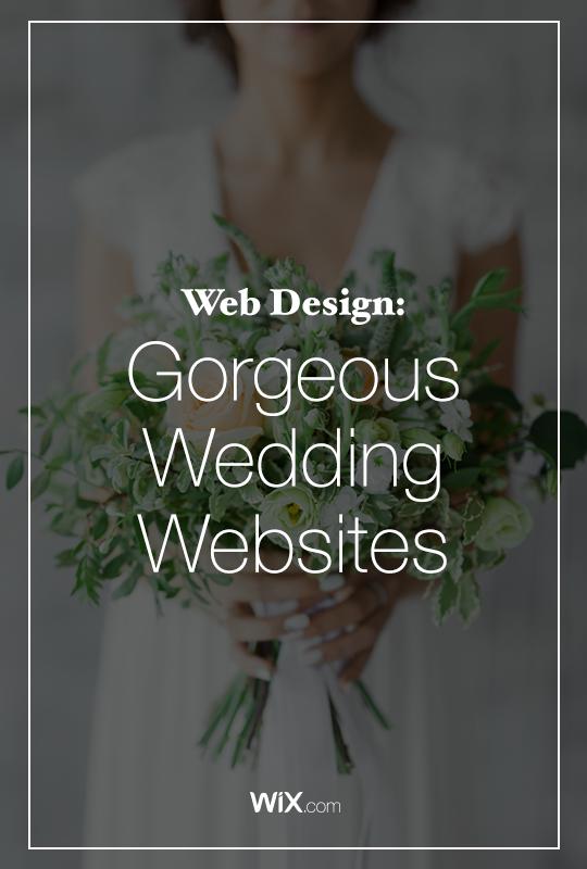Wedding Websites You'll Want to Copy Fun